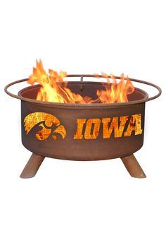 Iowa Hawkeyes Outdoor Fire Pit