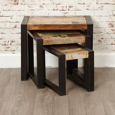 Shoreditch Nest Of Three Tables
