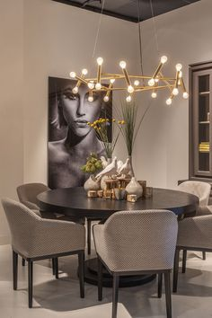 dining rooms in 2020 Home Room Design, Dining Room Design, Interior Design Living Room, Living Room Decor, Dining Room Furniture, Dining Rooms, Dining Table, Luxury Dining Room, Dining Room Inspiration
