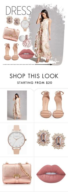 """#lessthan100 NewYearEve"" by simonellifabiely ❤ liked on Polyvore featuring Forever 21, Stuart Weitzman, Olivia Burton, Aspinal of London and Lime Crime"