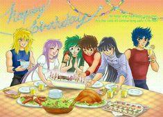 Happy Birthday by on DeviantArt Akira, Anime Chibi, Manga Anime, Manhwa, Fanart, Sailor Moon, Knight, Saints, Disney Characters
