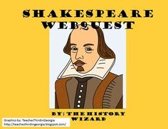 Students will gain basic knowledge about Shakespeare by completing an internet-based worksheet. The Shakespeare Webquest uses a great website created by the BBC. The website allows students to explore the key events of Shakespeare's life in a very kid friendly website. Social Studies Lesson Plans, Social Studies Classroom, Shakespeare's Life, Create Website, Teaching English, Creative Teaching, Teaching Ideas, Teacher Resources, Language Arts