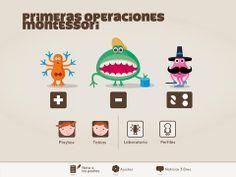Primeras operaciones #Montessori