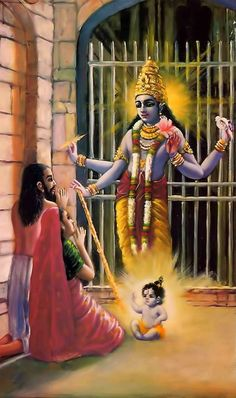 appearance of Lord Krishna...Beautiful depiction ¡¥`¥~¥¤♡£♥