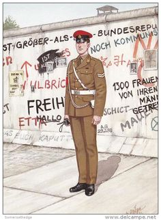 British; Royal Military Police, Corporal, West Berlin 1989 by B.Fosten
