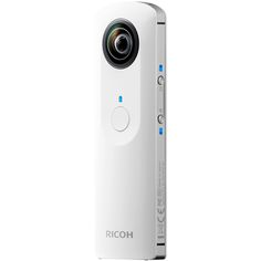 RICOH THETA, Experience a new world of images with the RICOH THETA. Capture your complete surroundings with the press of a button. Easily share images to social media right from the iPhone app.
