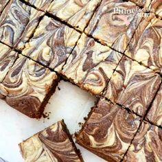 Peanut Butter Cheesecake, Cheesecake Brownies, Best Brownie Recipe, Brownie Recipes, Baking Recipes, Dessert Recipes, Best Brownies, Plate Design, Sweet Recipes
