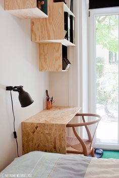 workspace plywood and OSB - Osb playwood - Furniture Plywood Furniture, Plywood Desk, Plywood Storage, Plywood Interior, Plywood Shelves, Diy Furniture, Furniture Design, Chipboard Interior, Plywood Projects