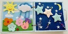 Quiet Book Activity Felt Craft Fabric busy book Montessori Handmade