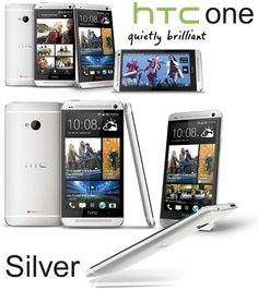 Htc One, Phone, Silver, Telephone, Mobile Phones, Money