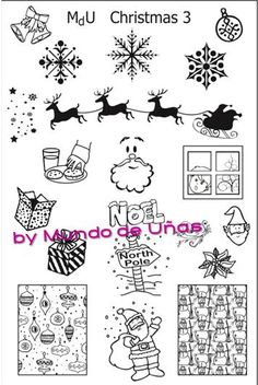 MdU Stamping Plate - Christmas 3