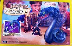 Fab find HARRY POTTER BASILISK ATTACK PLAYSET BY MATTEL (2002) #Mattel