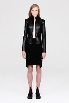 Dion Lee A/W '13 look book