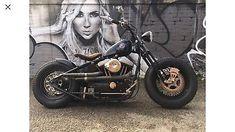 eBay: Custom Harley Davidson hardtail sportster bobber chopper #harleydavidson ukdeals.rssdata.net