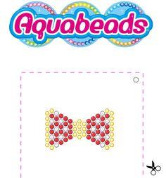 Un joli nœud papillon à réaliser avec #Aquabeads