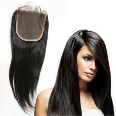 8A 3 방법 부분 중간 부분 스트레이트 폐쇄 머리 브라질 인간의 처녀 머리 레이스 탑 폐쇄 4x4 lace closure 퀸즐랜드 머리