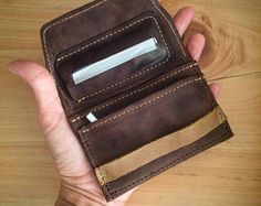 Old Tobacco Thick Leather Bartender Bottle Opener//Corkscrew Holster Fanny Pack Belt Pouch Handmade by Hide /& Drink