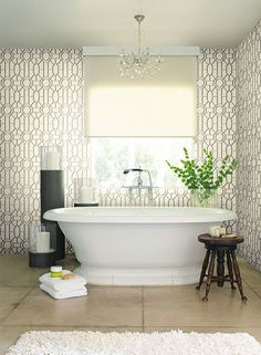 $100 double rollDickinson Trellis Wallpaper design by York Wallcoverings
