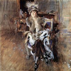 The Athenaeum - Madame Lacroix (Giovanni Boldini - ) Giovanni Boldini, John Singer Sargent, Italian Painters, Italian Artist, National Gallery, Pierre Auguste Renoir, Italian Renaissance, Henri Matisse, New Artists