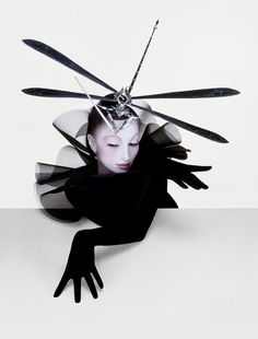 Serge Lutens  is a French photographer, filmmaker, hair stylist, perfume art-director and fashion designer.