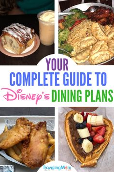 Not sure if a Disney dining plan is right for your family? Use the Traveling Mom complete guide to all three of Disney's dining plans to decide which one is right for you and your family at Walt Disney World restaurants. Disney World Secrets, Disney World Food, Disney World Tips And Tricks, Disney Tips, Disney Worlds, Disney World Hacks, Disney Disney, Disney Stuff, Disney Dinning Plan