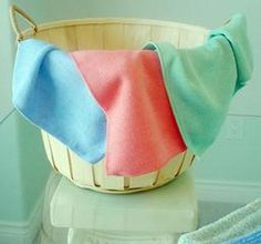 Becoming a microfiber cleaning cloth believer!