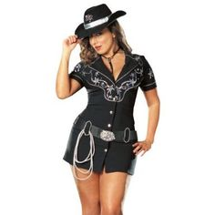 Cute and Sexy Cowgirl Halloween Costumes