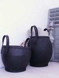recycled rubber baskets by Household Hardware http://www.keetenkoter.nl