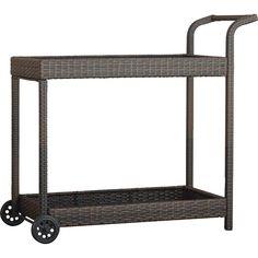 Brayden Studio Marchese Bar Serving Cart & Reviews | Wayfair