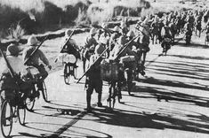 The Historian's Hut Articles: Strange, But Successful, War Strategies—Japan's WWII Bicycle Infantry O Donnell, Palawan, Manila, Philippines Culture, Leyte, Army Infantry, Pearl Harbor Attack, Story Of The World, Historical Images