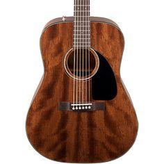 Fender CD60 All-Mahogany Acoustic Guitar Natural