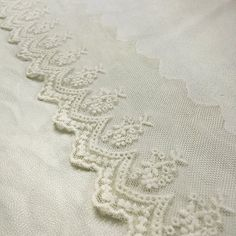 Circle Flower Design White Embroidery Lace Trim Lace Cotton Embroidery 5Yards 8cm Wide >>> Click image to review more details.