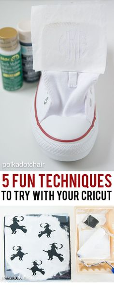 5 Fun Techniques to try with your Cricut Machine