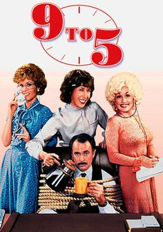 9 to 5 (US, 1980.) This remains one of the funniest movies I've ever seen. Lily Tomlin, Jane Fonda, and Dolly Parton are a delicious team in this tale of working women getting even with their boss. Dabney Coleman made a delightful cad and Elizabeth Wilson is smashing as Roz. Why did they never do a sequel? 5 Stars.