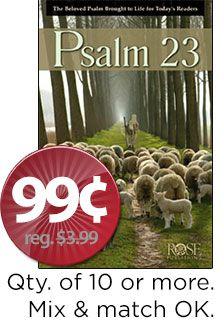Psalm 23 Pamphlet
