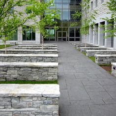 Middlebury College, Bicentennial Hall | Landscape Architect: H. Keith Wagner Partnership | Architect: Payette Associates | Image Credit: H. Keith Wagner Partnership