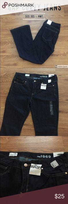 I just added this listing on Poshmark: NWT Gap 1969 Curvy Boot Cut Dark Jean (size 30s). #shopmycloset #poshmark #fashion #shopping #style #forsale #GAP #Denim
