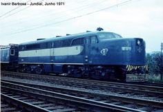 Locomotiva  ALCO  PA 2 da Companhia Paulista (SP) Brasil