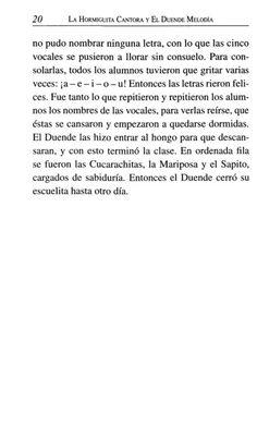 La Hormiguita Cantora y el Duende Melodía Words, Elves, Literatura, Lyrics, Horse