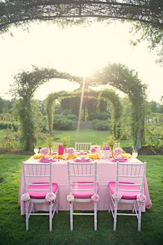chair cover rentals hartford ct covers by hana 58 best event inspiration bridal shower images in 2019 linen la tavola fine rental peau de soie pink with fuschia napkins and cushions
