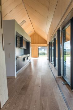 The home was built by Danish developers Realdania BYG and Arkitema Architects, with input ...