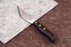 ♦♦♦♦♦♦♦♦♦♦♦♦♦♦♦♦♦♦♦♦♦♦♦♦♦♦♦♦♦♦ FOR SALE ♦♦♦♦♦♦♦♦♦♦♦♦♦♦♦♦♦♦♦♦♦♦♦♦♦♦♦♦♦♦ Brand New Vergez Blanchard Angular Knife with ABS plastic handle. Made in France. Very nice knife made of high quality steel with ABS plastic handle. The blade is very strong with thickness of 2,5mm. The length of the blade is 125mm. Please look at the detailed photos. It will help you to choose the correct item.  ♦♦♦♦♦♦♦♦♦♦♦♦♦♦♦♦♦♦♦♦♦ VERGEZ BLANCHARD BRAND ♦♦♦♦♦♦♦♦♦♦♦♦♦♦♦♦♦♦♦♦♦ Every Vergez Blanchard tool is handmade in…