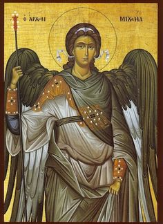 Home :: Greek Orthodox Icons :: Hand painted icons of the Saints :: St. Michael the Archangel Saint Michael, St. Michael, Religious Icons, Religious Art, Religious Paintings, Saint Gabriel, Saints, Religion, Spirituality