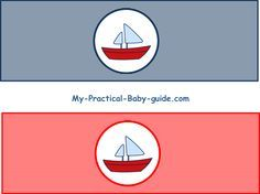#Free #Printable #Nautical #Baby #Shower #Bottle #Labels.  Click for more ideas, tips and free printable Nautical Baby Shower.