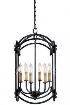 Hastings Hanging Lantern - Decorative Lanterns - Hanging Lanterns - Ceiling Light Fixtures | HomeDecorators.com