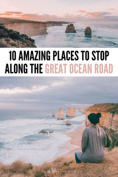 These amazing places to visit on the Great Ocean Road are some of the most beautiful places in Australia! #GreatOceanRoad #Australia Great Ocean Road Australia | Australia road trips | Great Ocean Road trip map | Great Ocean Road photography | things to do on the Great Ocean Road Australia | Australia photography | Great Ocean Road intagram spots | Great Ocean Road photography spots | places to stop on the Great Ocean Road | Great Ocean Road 2 day itinerary | Great Ocean Road day trip