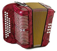 Dad's first accordion was a Hohner button accordion.  He later purchased 10 more accordions of various makes and styles.