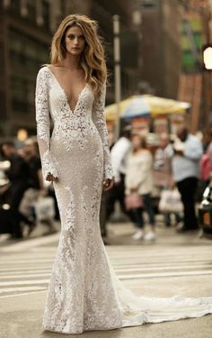 Courtesy of Berta Wedding Dresses; www.berta.com; Wedding dress idea.