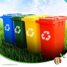 Apenas 11% de tudo o que se joga na lata de lixo é reciclado no Brasil. Colabore com a natureza!