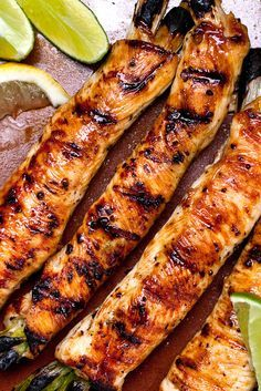 Teriyaki is derived from the Japanese root words teri, to shine, and yaki, to broil or grill That's the way traditional teriyaki looks: shiny and incised with grill marks In Japan, teriyaki is a mix of soy sauce, sake and the rice wine mirin, which imparts a subtle sweetness